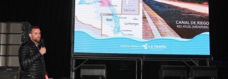 La cuestión de los ríos pampeanos presente en Tecnópolis
